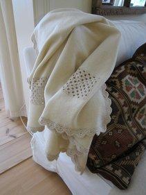 "Woollen blanket ""Grandma"""