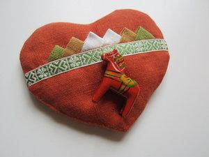 Small wheat heart - Dalecarlian