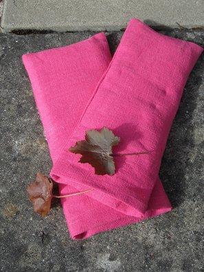 Eye pillow Linen cerise