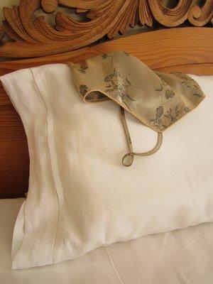 Pillow case, Linen Hemstitch