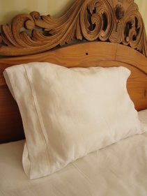 Pillow case, Linen Hemstitch