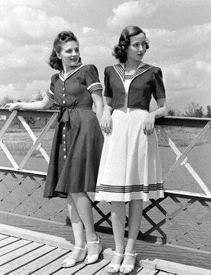 Alltid fin sjömansklädd!