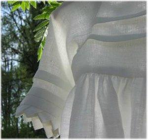 Dopklänning Fattigspets