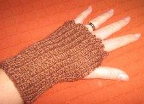 Wrist warmer, knit