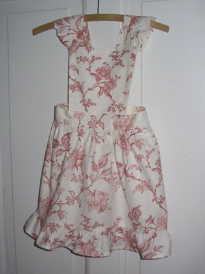 Pattern, apron dress