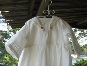 Christening robe,  Sailor