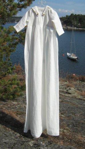 Dopklänning sjöman