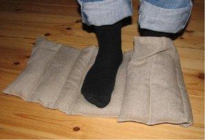 Wheat pillow, cushion foot etc