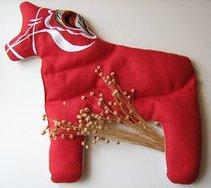 Vetehäst röd