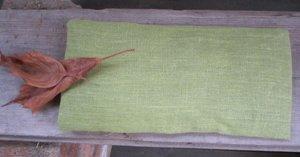 Eye pillow green Linen