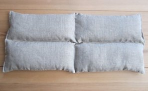 Rectangle Wheat Pillow, 4 sections